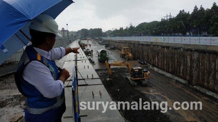Proyek Underpass Karanglo Malang Lebih Cepat dari Target Awal, Inilah Jadwal Operasionalnya