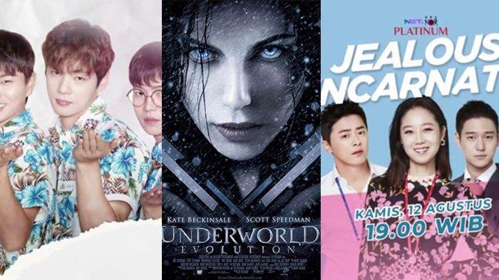 Jadwal Film & Drakor Kamis 12 Agustus di Trans TV NET TV: Jealousy Incarnate & Underworld: Evolution
