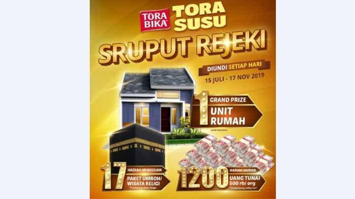 Daftar Pemenang Uang Rp 500.000 Undian Sruput Rejeki TORASUSU MALANG Periode 30 September 2019