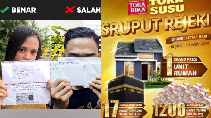 Daftar Pemenang Uang Rp 500.000 Undian Sruput Rejeki TORASUSU MALANG Periode 9 November 2019