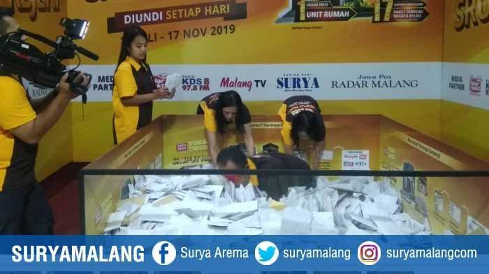 Daftar Pemenang Uang Rp 500.000 Undian Sruput Rejeki TORASUSU MALANG Periode 6 November 2019