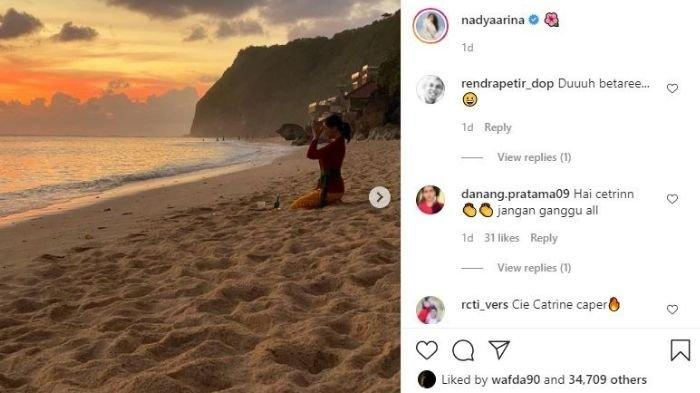 Unggahan Nadya Arina tuai kritik imbas perannya di Ikatan Cinta