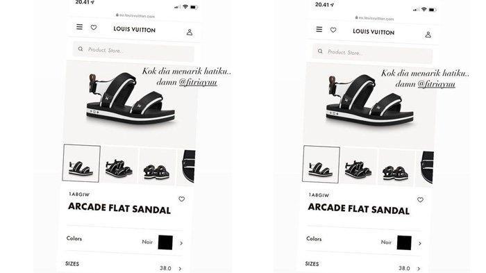 Unggahan Putri Anne ingin sandal Louis Vuitton