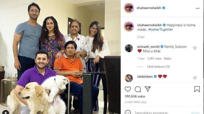 Unggahan Shaheer Sheikh menunjukkan perut buncit Ruchikaa Kapoor
