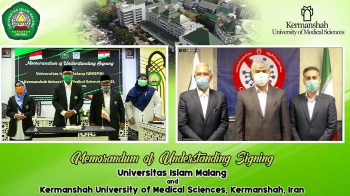Universitas Islam Malang (Unisma) Gandeng Perguruan Tinggi Iran, Kali Ini untuk Fakultas Kedokteran