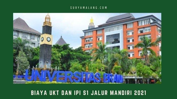Daftar Biaya UKT dan IPI Universitas Brawijaya Program S1 Jalur Mandiri 2021, Gelombong 2 Berakhir