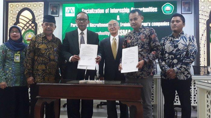 Universitas Islam Malang (Unisma) Gandeng Mori No Sato Corp Jepang Buat Magang Mahasiswa