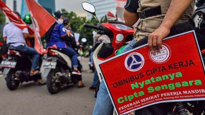 Ada Demo Tolak Omnibus Law UU Cipta Kerja di Monas Hari Ini, Polisi Bikin Rekayasa Arus Lalu Lintas