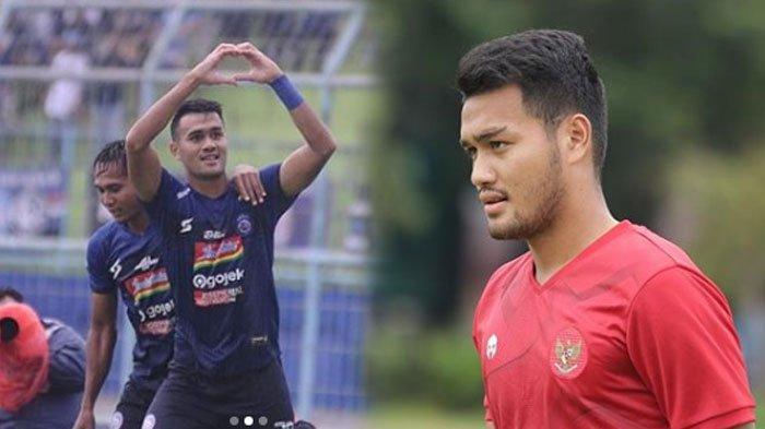 Biodata Muhammad Rafli Penyerang Arema FC yang Diandalkan Shin Tae-yong di Timnas Indonesia