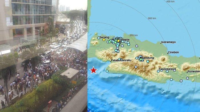 Update Gempa Jakarta yang Berpusat di Banten Kemarin: 15 Rumah Rusak dan Daftar Wilayah Terdampak