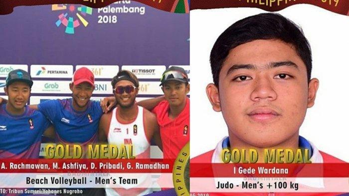 Update Perolehan Medali SEA Games 2019, Indonesia Naik Peringkat di Urutan 2