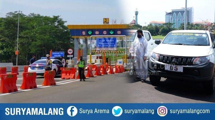 Update PSBB Malang Raya 23 Mei 2020: Petugas Check Poin Belum Dapat Uang Lelah & Marak Travel Gelap