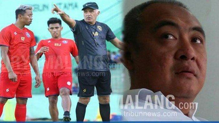 Update Transfer Pemain Arema FC: Sansan Fauzi Batal Gabung, Ruddy Widodo Deal Dengan 2 Pemain Asing
