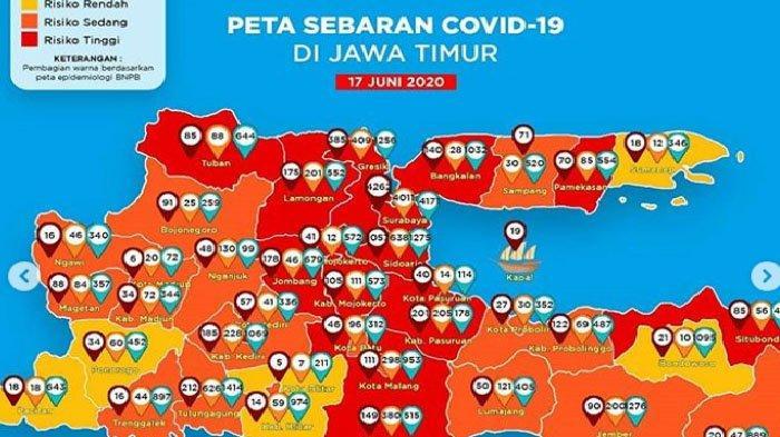 Update Virus Corona di Malang & Jatim 17 Juni 2020: Ada 7 Pasien Covid-19 Baru Dari Kabupaten Malang