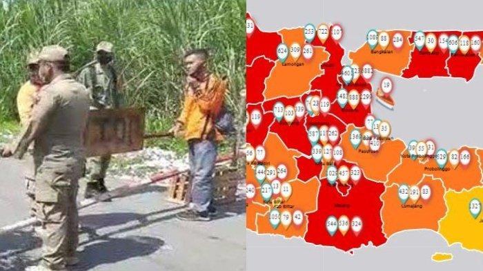 Update Zona Merah di Jawa Timur Sabtu 11 Juli 2020: Tuban Zona Merah, Kediri Oranye & Jember Kuning