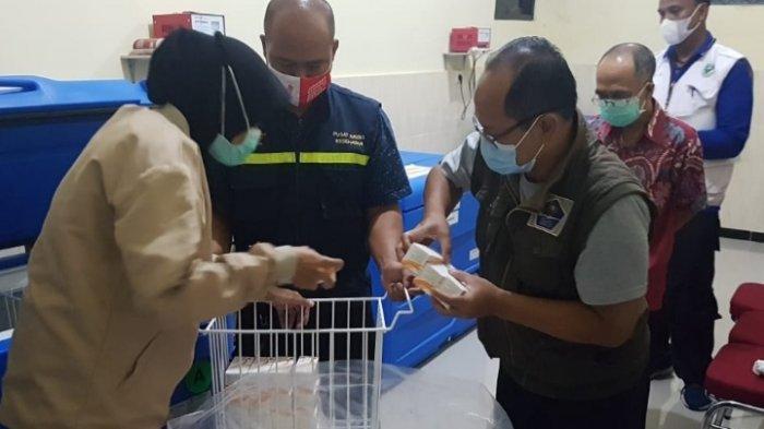 Dinkes Kota Blitar Terima 14.720 Dosis Vaksin Covid-19 untuk Tahap Dua