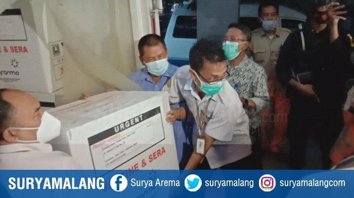 Polresta Malang Kota Jaga Ketat Vaksin Covid-19, 15 Personel Siaga di Ruang Penyimpanan Tiap Hari