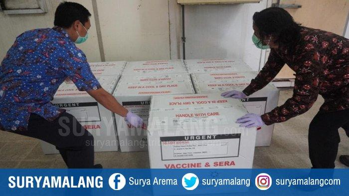 Jadwal dan Jatah Dosis Vaksin Covid-19 Jatim Mulai Disusun, Surabaya Gresik dan Sidoarjo Prioritas