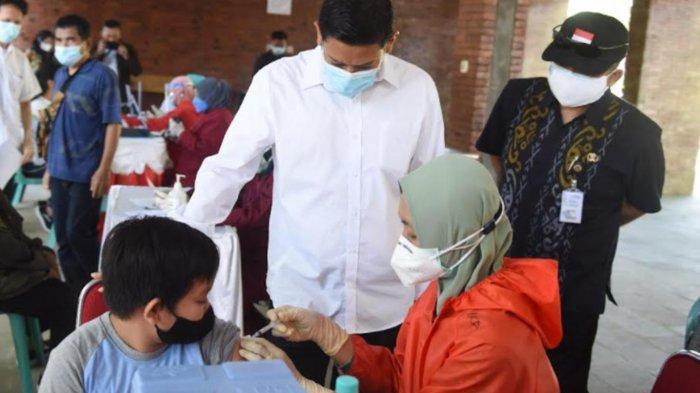 Kota Kediri Mulai Gelar Vaksinasi Covid-19 untuk Anak 12 Tahun ke Atas