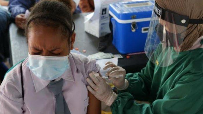 Polres Malang Berikan Layanan Vaksinasi Covid-19 bagi Pelajar Papua