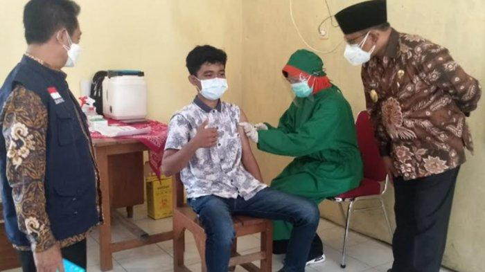 Program Vaksinasi Covid-19 Kota Blitar Mulai Sasar Usia Remaja dan Pelajar