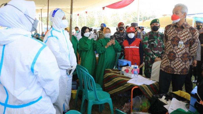 Gubernur Ganjar Pranowo Apresiasi Panglima Koarmada II Bantu Percepatan Vaksinasi Covid-19 di Jateng