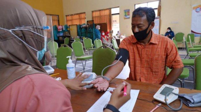 Vaksinasi Covid-19 di Kelurahan Ngronggo Kota Kediri Ada Hadiah Total Rp 10 Juta