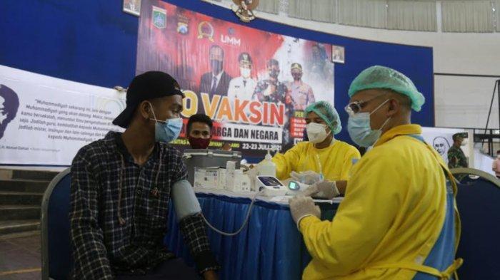 Kodim 0818 Kabupaten Malang-Batu Gelar Vaksinasi Covid-19 Massal di UMM, Target 6000 Orang