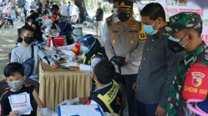 Vaksinasi Merah Putih Tahap 2 di Kota Kediri Targetkan 1000 Peserta