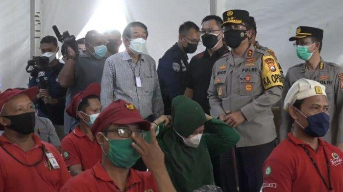 Polda Jatim Sediakan 2 Ribu Dosis Vaksin Covid-19 untuk Komunitas Pekerja Pabrik dan Warga Sekitar