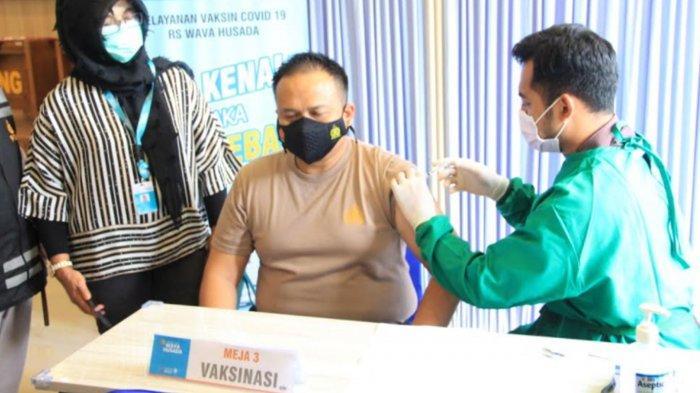 Kapolres Malang Wajibkan Seluruh Jajaran Ikuti Vaksinasi Covid-19