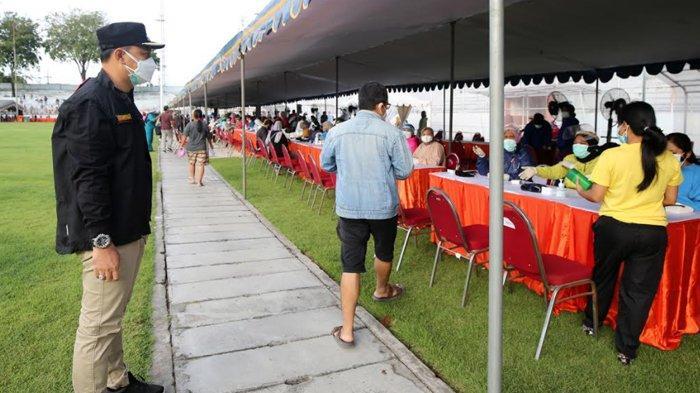 Vaksinasi Anak di Gelora 10 November Hanya Untuk SD-SMP yang Dapat Undangan Dispendik Surabaya