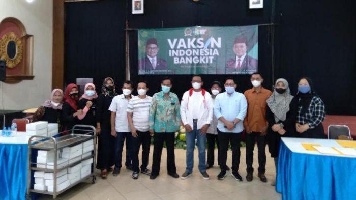 Capaian Vaksinasi Covid-19 di Kecamatan Gedangan Kabupaten Malang Rendah