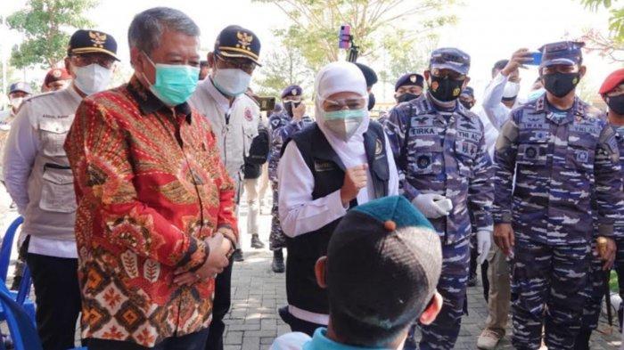 Target Herd Immunity Jatim di HUT RI ke 76, Pemprov -TNI AL Pacu Vaksinasi Warga Pesisir dan Pulau