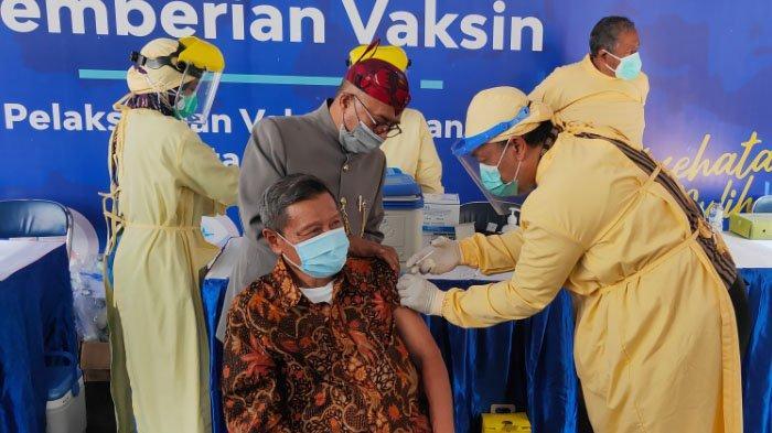 Kota Malang Kekurangan Stok Dosis Vaksin Bagi Lansia