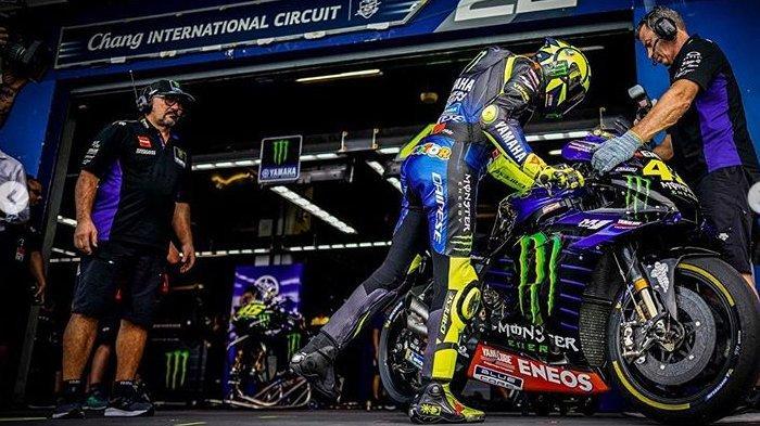 MotoGP Thailand 2019, Valentino Rossi Bicara Soal Perpanjangan Kontrak di Yamaha