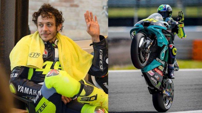 BREAKING NEWS - Valentino Rossi PENSIUN Dari Ajang MotoGP, The Doctor : Sulit untuk Mengatakannya