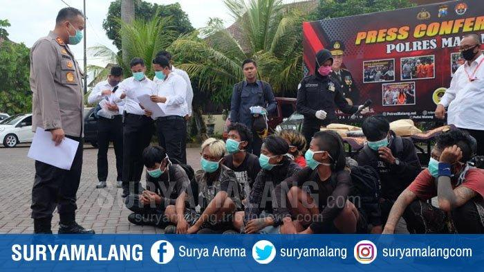 Waspadai Aksi Serentak 18 April, Media Sosial 10 Anak Punk yang Diamakan Polres Malang Dipantau
