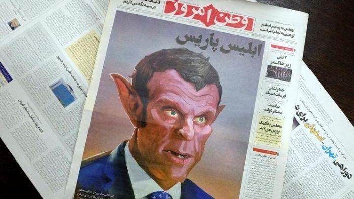 Heboh Kartun Nabi Muhammad SAW, Negara Muslim Kecam Perancis Hingga Tampilkan Macron Seperti Iblis