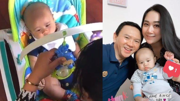 Video Ahok Rekam Puput Nastiti Devi Main Bareng Sang Putra, Yosafat Makin Lucu di Usia 3 Bulan