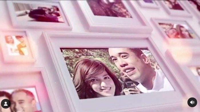 Video berisi foto kenangan Nia Ramadhani dan Ardi Bakrie