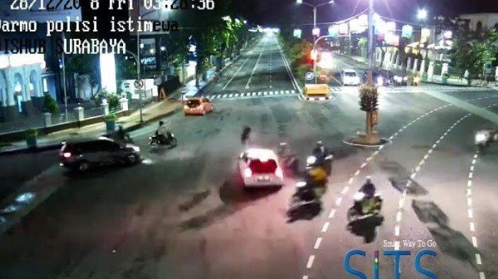 Identitas Pengemudi dan Kronologi Kecelakaan Viral di Simpang Darmo-Polisi Istimewa, Surabaya