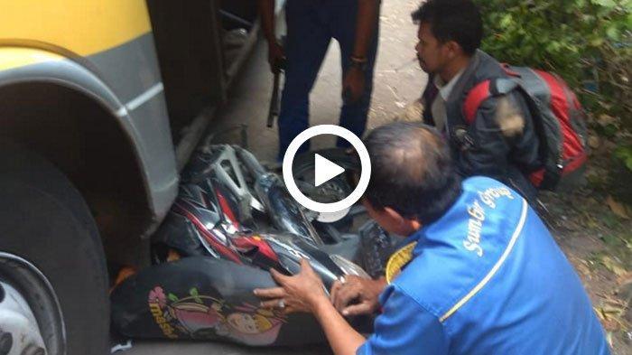 VIDEO - Hasil Verifikasi Polisi Soal Video Viral Sopir Bus Sugeng Rahayu Gilas Motor di Nganjuk