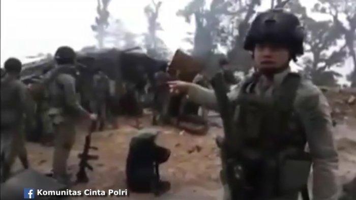 VIDEO Kondisi Markas KKB Papua usai Diserbu & Dihancurkan Brimob Polisi, Lihat Bentuknya Sekarang