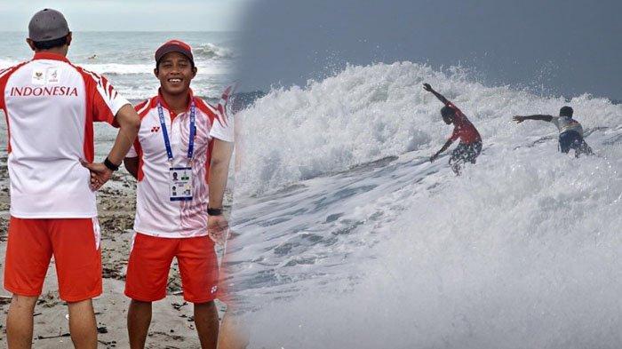 Video Mengerikan Peselancar Indonesia Tergulung Ombak di SEA Games 2019, Diselamatkan Atlet Filipina