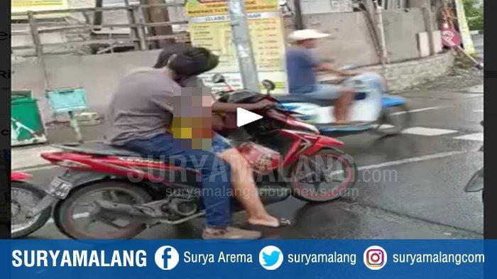 Pelaku Video Mesum di Jalan Kenjeran Surabaya Ditangkap, Hubungan Pelaku Pria & Wanita Dibongkar