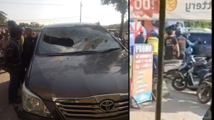 BREAKING NEWS: Pengemudi Mobil Innova Jadi Sasaran Amuk Warga di Benowo Surabaya