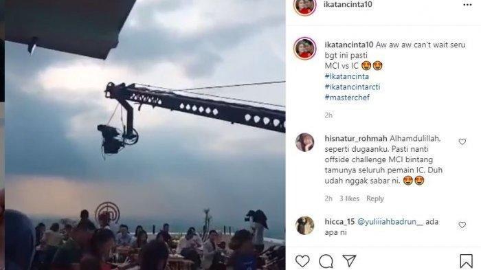 Video spoiler syuting bersama pemain Ikatan Cinta dan Masterchef Indonesia