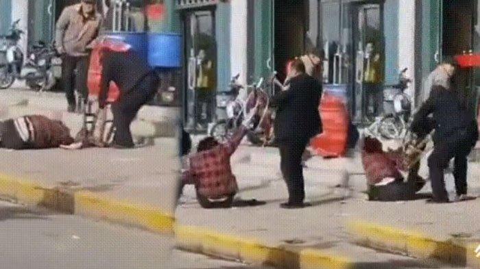 Video Suami Hajar Istri di Jalanan Viral di Twitter, Jadi Tontonan Orang-orang Akhirnya Tewas