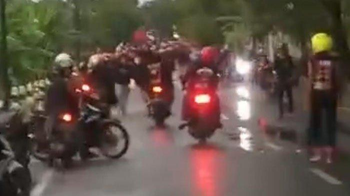 Penjelasan Polisi Soal Video Viral Bentrok Warga Vs Perguruan Silat di Tuban, Dipicu Konvoi Motor